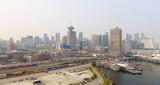 Vancouver aerial skyline near Canada Place - 175669763