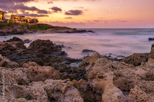 Fotobehang Strand Beautiful Landscape from the coast of crete