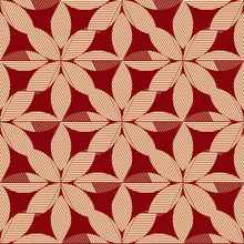 Wallpaper baroque, damask. Beige and red vector background. Vintage ornament. background for wallpaper, printing on the packaging paper, textiles, tile.