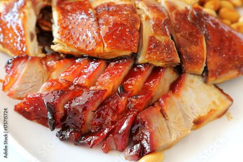 Roast Chicken and Roast Pork Poster
