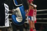 Kickboxer athlete in the ring - 175720548