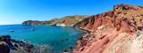 Red Beach, Akrotiri, Greece, Santorini-Thira- one of the most fa - 175721188