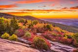 Autumn Dawn in Blue Ridge Mountains - 175721797