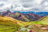 Vinicunca or Rainbow Mountain,Pitumarca, Peru - 175722176