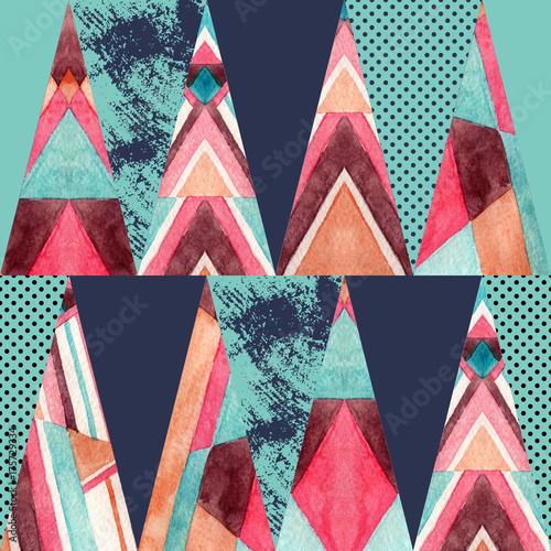 Triangle seamless pattern. - 175729334