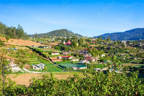 Nuwara Eliya city view