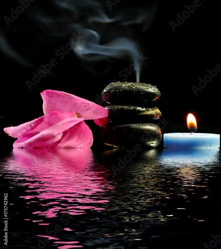 Papiers peints Spa Lighted candles