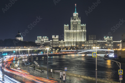 Fotobehang Moskou Cityscape of Moscow