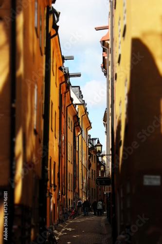Fotobehang Stockholm Stockholm Altstadt