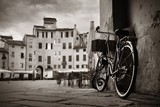 Piazza dell Anfiteatro with bike - 175754369