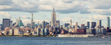 Midtown Manhattan Panorama as seen from Jersey City, USA - 175755171