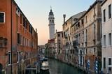 Venice canal San Giorgio dei Greci - 175755567