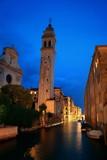 Venice canal night - 175755975