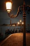 Venice at night and San Giorgio Maggiore church - 175756173