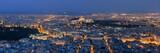 Athens skyline from Mt Lykavitos panorama - 175757974
