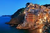 Riomaggiore waterfront night - 175758773