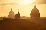 Rome sunset rooftop view - 175759724
