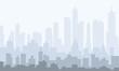 Morning City Skyline - vector - 175761135