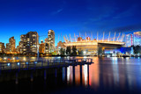 Vancouver city night - 175761597