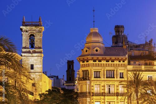 Old architecture of Valencia