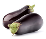 Eggplant or aubergine vegetable isolated on white background cutout - 175772704