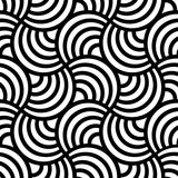 Abstract seamless black and white inverted pattern of diagonal scales.High-resolution seamless texture - 175787973