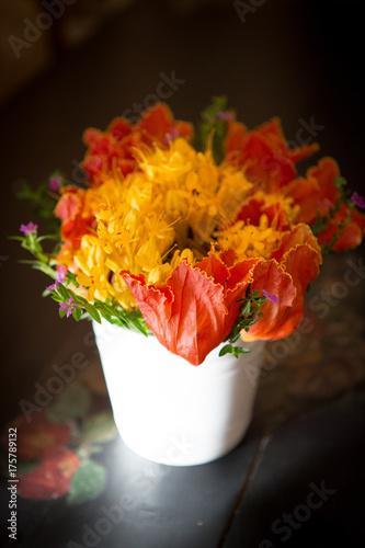 Plakat flower in vase