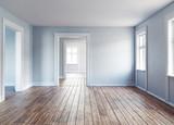 Modern empty interior - 175797902