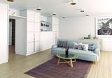 modern living room - 175797911