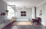 living room interior - 175797930