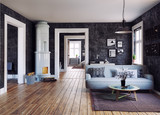 The Modern interior - 175797983