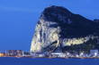 Quadro Panorama of Gibraltar seen from La Linea de la Concepcion