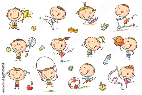 Kids and Sport - 175804354