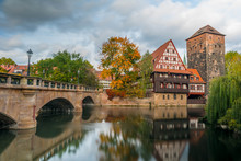 sights of the German city of Nuremberg