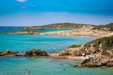 Panorama of Chia coast, Sardinia, Italy. - 175818550