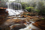 Weeping rock waterfall
