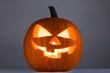Quadro Glowing Halloween Pumpkin