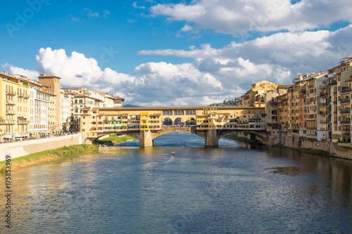 Deurstickers Florence Ponte Vecchio in Florenz