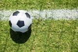 Soccer ball on field - 175863388