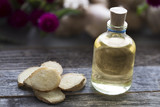 Ginger Oil and Slices - 175864168