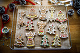 Christmas gingerbread cookies - 175867910