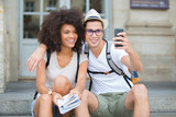 taking some urban break selfie - 175881544