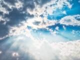 Sunlight Through Clouds - 175885566