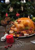 Rustic Style Christmas Turkey - 175885763