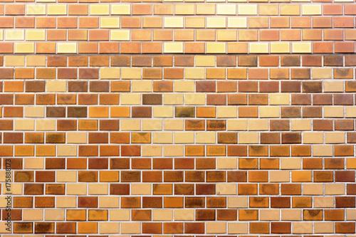 レンガ風タイルの外壁 Poster