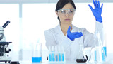 Scientist  imaginating New idea in Laboratory, Research Work - 175895568