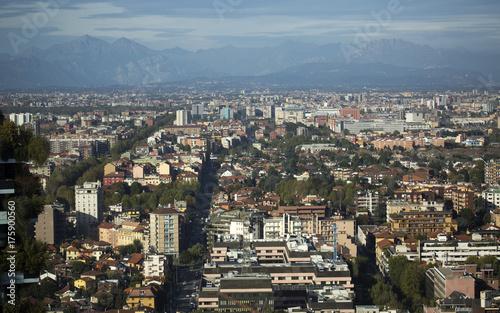 Milano veduta dall'alto
