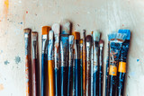 Artist Paint brushes - 175904503