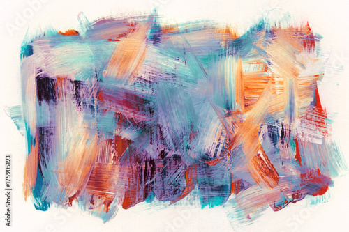 Plakat Abstrakt