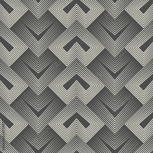Modern Geometrical Background. Creative Fabric Pattern - 175905717